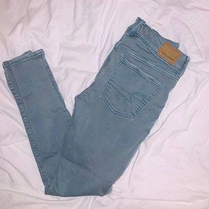 American Eagle teal pants